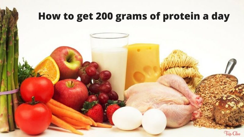 How to get 200 grams of protein a day 1
