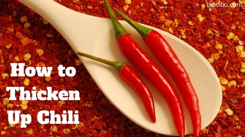 How to Thicken up Chili 1