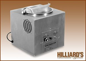 HILLIARD'S chocolate tempering machine
