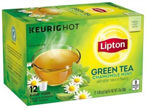 Lipton Chamomile Mint Green Tea K-Cups