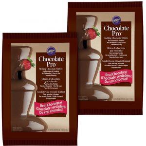 Wilton 2 Pack Chocolate Fondue