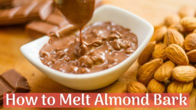 how to melt almond bark