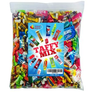 Assorted Candy Taffy Party Mix, 5 LB Bulk Bag_ by A Great Surprise