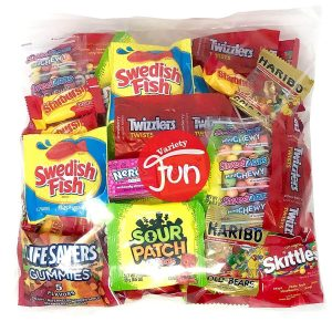 Treat Candy Party Mix Bulk Bag by Custom Varietea