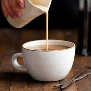 How to ensure that coffee creamer is safely frozen