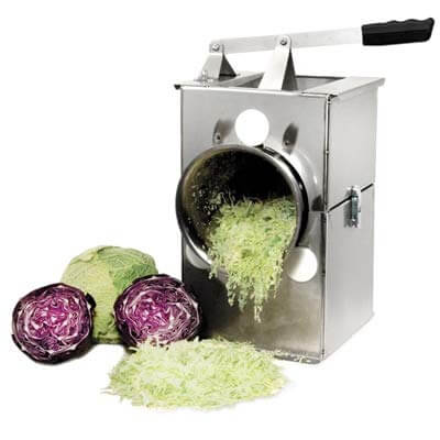 Harvest Fiesta Deluxe Stainless Steel Cabbage Shredder