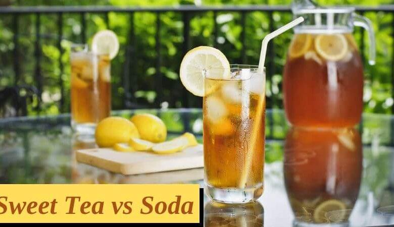 Sweet Tea vs Soda