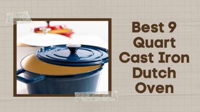 Best 9 Quart Cast Iron Dutch Oven