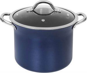CONCORD Sapphire Nonstick 7 Quart Stock Pot