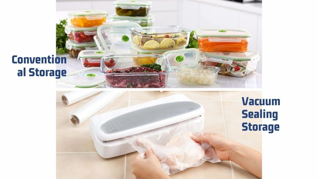 Conventional Storage vs. Vacuum Sealing Storage