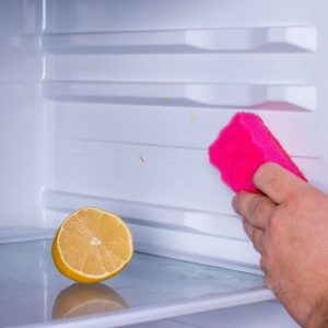 Fridge smells even after cleaning
