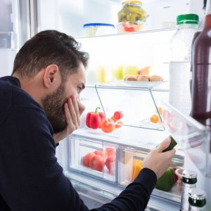 Why does my fridge smell?