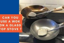 Can you use a wok on a glass top stove