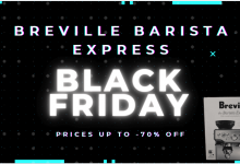 Breville barista express black friday