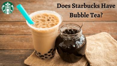 Does Starbucks Have Bubble Tea